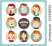 people character illustration  | Shutterstock .eps vector #241548532