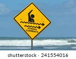 Strong Currents Sign. Copy...