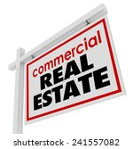 commercial real estate sign to... | Shutterstock . vector #241557082