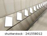blank billboard located in... | Shutterstock . vector #241558012