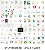 logo mega collection  abstract... | Shutterstock .eps vector #241576396