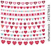 valentine's day vector... | Shutterstock .eps vector #241578616