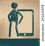 mobile concept human resource...