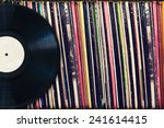 Vinyl Record With Copy Space I...