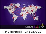 white world map  people to... | Shutterstock .eps vector #241627822