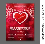 valentines day party flyer...