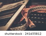 cloth samples for custom made... | Shutterstock . vector #241655812