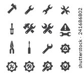 tool icon set | Shutterstock .eps vector #241686802