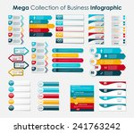 infographic templates for... | Shutterstock .eps vector #241763242
