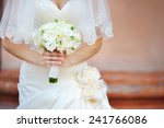 wedding bridal bouquet in the... | Shutterstock . vector #241766086