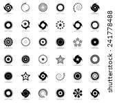 stars and rotation design... | Shutterstock .eps vector #241778488