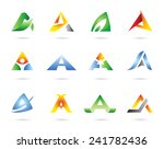 icon set vector | Shutterstock .eps vector #241782436