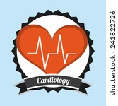 cardiology icon | Shutterstock .eps vector #241822726