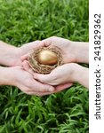 Nest Egg In Couple's Hands