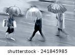 business people walking in the... | Shutterstock . vector #241845985