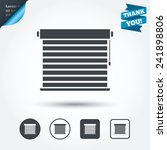 louvers sign icon. window... | Shutterstock .eps vector #241898806