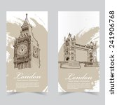 vector template banners. hand...