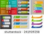 colorful modern text box... | Shutterstock .eps vector #241939258