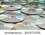 Background of compact disks or...