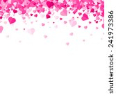valentines day background | Shutterstock .eps vector #241973386