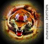 Cosmic Fire Tiger Roar