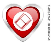 film valentine icon movie sign... | Shutterstock . vector #241996048