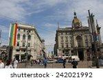 milan   italy   may 9  piazza... | Shutterstock . vector #242021992