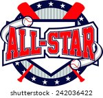 baseball all star logo