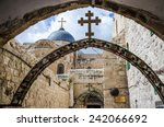 Via Dolorosa, station IX, Jerusalem old city