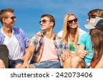 friendship  leisure  summer and ... | Shutterstock . vector #242073406