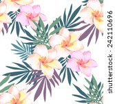 watercolor seamless pattern of... | Shutterstock .eps vector #242110696