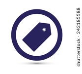 price tag icon   Shutterstock .eps vector #242185588