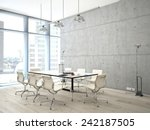 conference room interior with a ... | Shutterstock . vector #242187505