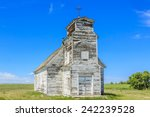 An Old Abandoned White Church...