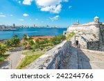 the fortress of el morro in... | Shutterstock . vector #242244766