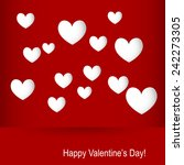 heart for valentines day... | Shutterstock .eps vector #242273305