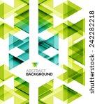 triangle geometric concept ... | Shutterstock . vector #242282218