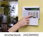 Pushing Alarm. Home Security