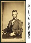 Постер, плакат: President Abraham Lincoln 1809 1865