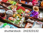 bangkok december 13  floating... | Shutterstock . vector #242323132