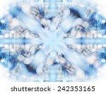 abstract kaleidoscope light... | Shutterstock . vector #242353165