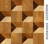 abstract paneling pattern   3d... | Shutterstock . vector #242355046