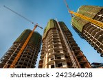 buildings under construction   Shutterstock . vector #242364028