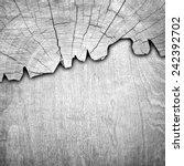 cracked wood board  | Shutterstock . vector #242392702
