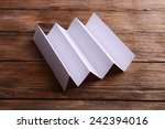 paper sheet on table close up | Shutterstock . vector #242394016