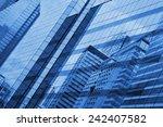 glass of modern tower for... | Shutterstock . vector #242407582