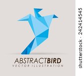 abstract bird | Shutterstock .eps vector #242414545