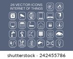 reusable vector illustration... | Shutterstock .eps vector #242455786