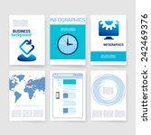 brochure. vector design...