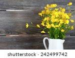 Wild Flowers In A Vase  Bouquet